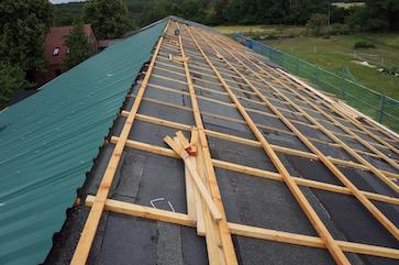 Ein laaaaanges Dach